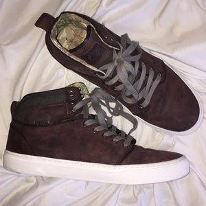 Vans Alomar Desert Cowboy Leather Chukka Boot 10.5